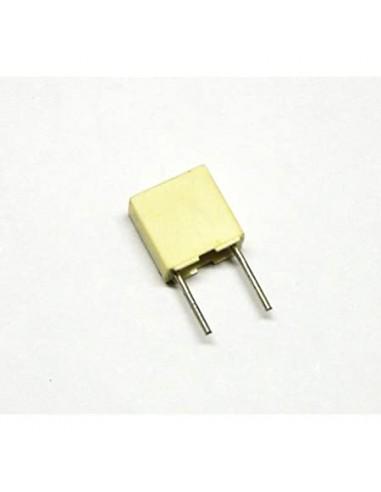 Condensatore poliestere 0,1uF 63V P....