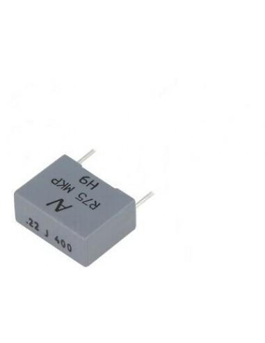 Condensatore poliestere 0,22uF 400V...